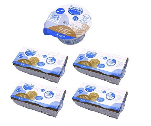 Fresubin 2 kcal Creme Cappuccino 16x 125g (4x 4x 125g) - Im ConsuMed Produktbundle inkl. Produktplakat