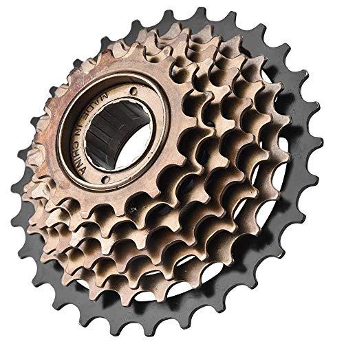 VGEBY 7 Gang Fahrrad Freilauf Kassette, Radfahren Ausrollen Zahnrad Werkzeug Fahrrad Ersatz Kassetten Kettenrad