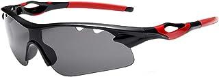 Gafas de Sol para Ciclismo Protección UV Polarizadas Ligeras Moto Hombre e Mujer Gafas polarizadas, Correr e Bici Gafas Deporte