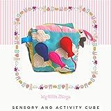 Andreu Toys-10 Sensory Sound Cubes Puzzles de Madera, Multicolor (16112)