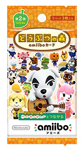 Nintendo Animal Crossing amiibo card 2nd (5 packs)