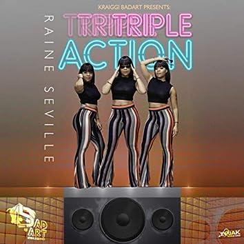 KraiGGi BaDArT presents: Triple Action (feat. Raine Seville) - Single