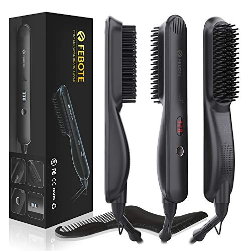 FEBOTE Deluxe Beard Straightener for Men Only $7.50 (Retail $24.99)