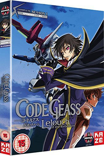 Code Geass: Lelouch Of The Rebellion - Complete Season 1 [DVD] [UK Import]