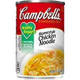 Campbell's Condensed Healthy Request Homestyle Chicken Noodle Soup, 10.5 oz. Can (Pack of 12)