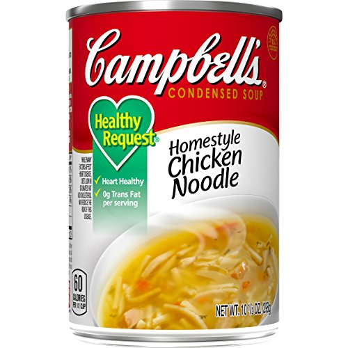 Campbell'sCondensedHealthy RequestHomestyle Chicken Noodle Soup, 10.5 oz. Can (Pack of 12)
