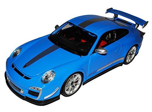 Bburago Porsche 911 997 GT3 RS 4.0 Coupe Blau 2004-2012 1000 Stück limitiert 1/18 Modell Auto