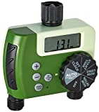 ORBIT UNDERGROUND 27248 Thumb 2 Out Digital Water Timer, Green