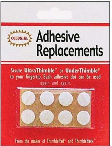 Colonial Ultra/Under Thimble Adhesive Replacements