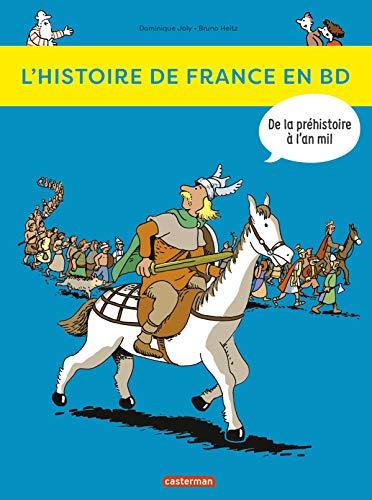 L'histoire de France en BD, Tome 1 : De la préhistoire à l'an mil