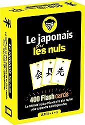 Le Japonais Pour Les Nuls - 400 Flashcards - La Méthode La Plus Efficace Et La Plus Rapide Pour Apprendre Les Idéogrammes de Vincent GREPINET