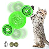 VRTOP Cat Toys Interactive Chew Toys for Indoor Cats Ball Windmill Catnip Toy Cat Toothbrush Funny Kitten Toys...