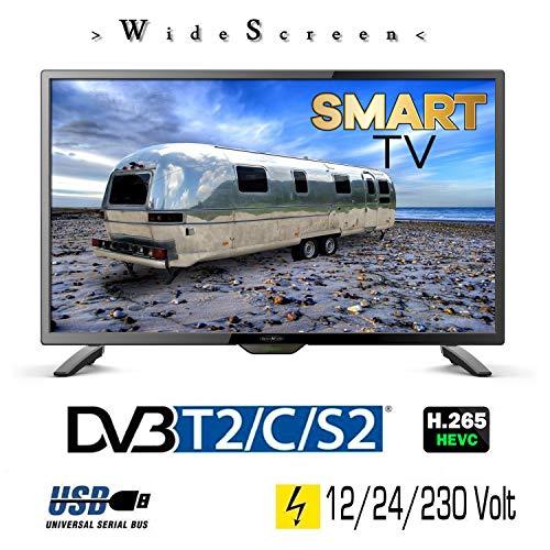 Reflexion LEDW28i LED Smart TV mit DVB-S2 /C/T2 für 12V | 24V u. 230Volt WLAN