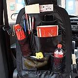 Patabit Organizador Asiento Coche | Protector Asiento Coche | Portaobjetos, Dimensiones 60x41 Cm…