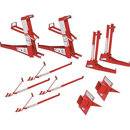 Qual-Craft Steel Pump Jack System Kit - 500-Lb. Capacity, Model Number 2214