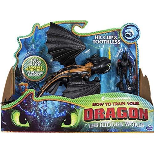 Dragons 6052275 Hiccup e Sdentato - Drago con Vichingo