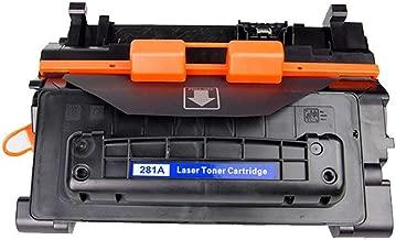 Toner O Tinta,Adecuado para el cartucho de tóner negro Hpcf281a, impresora compatible Mfp M630z / m630dn / m630f / m630h / m604n / m604dn / m605 / m60 cartucho de tóner, suministros originales