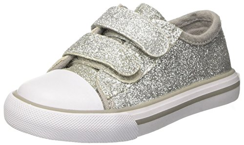 Chicco Cedrina, Sneakers para Bebés, Plateado (Argento), 25 EU