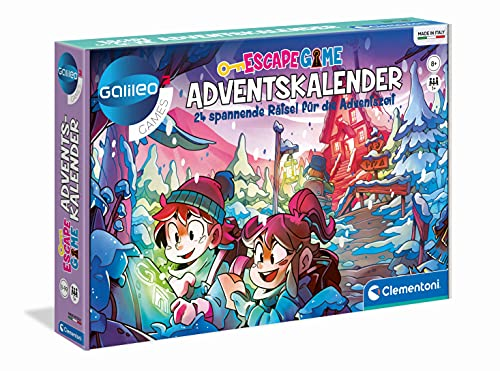 Galileo-Escape Game Adventskalender - Clementoni 59251