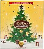 Ferrero Rocher Collection Advent Calendar 2020 with Milk, White and Dark Chocolate Pralines 271g