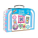 Galt Toys- Cross Stitch Case Kit de Manualidad para Niños, Multicolor, Talla única (1004798)