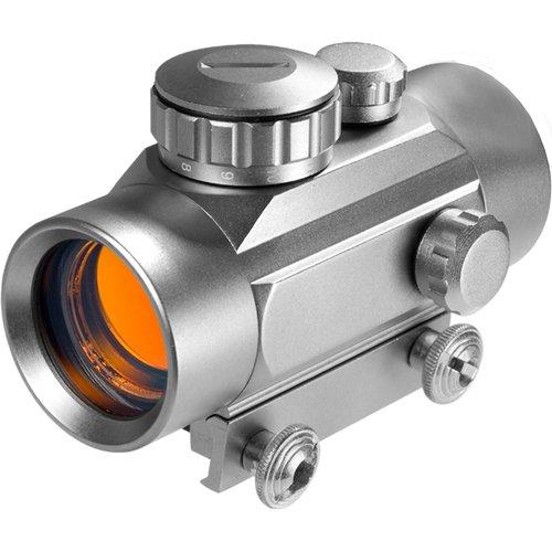 Barska Optics 30mm Red Dot Silver, 5/8'