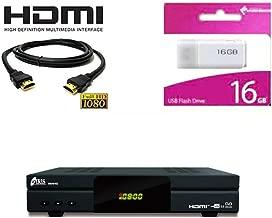 Kit Receptor SATELITE IRIS 9800 HD COMBO- DIGITALIA- Regalo Memoria USB 16GB + Cable HDMI