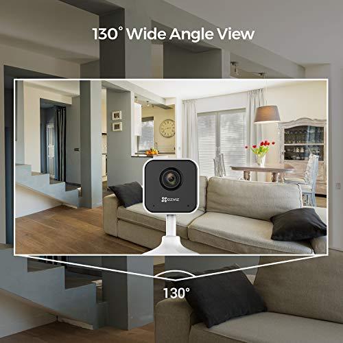 EZVIZ C1mini 1080p FHD Kamera 2.4Ghz Wi-Fi Indoor Video Überwachungskameras mit Zwei-Wege-Audio, Nachtsicht, Cloud, Kompatibel mit Alexa, Google Home, IFTTT
