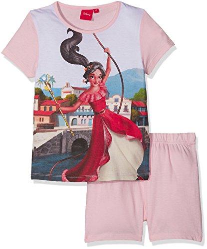 Disney Mädchen Elena of Avalor Zweiteiliger Schlafanzug, Pink (Pink Sorbet), 3 Jahre