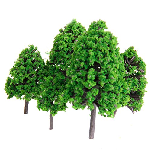 22 Set of trees tree model tree scene collection The model railway, diorama and architectural model-train model to 3-16 cm green