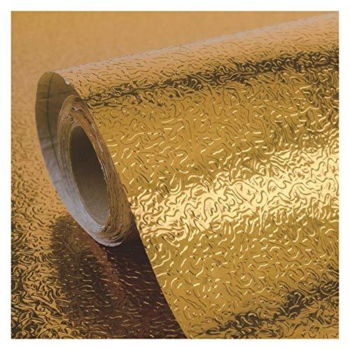 WHYBH HYCSP Küchen-Wand-Ofen Aluminiumfolie Ölbeständiges Aufkleber Anti-Fouling-Hochtemperatur Selbstklebende Croppable Tapete (Size : F)