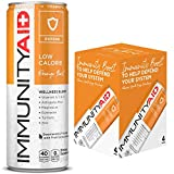 IMMUNITYAID Wellness Blend, With Echinacea, Zinc, Astragalus and Vitamin C, Only 45 Calories, 100% Clean, Vegan and Gluten-Free, No Artificial Flavors, Sodium or Caffeine, 12-oz. cans (Pack of 4)