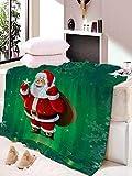Manta, Batamanta, Mejor Manta De Calcetín Navideño De Regalo, Manta De Navidad, Decoración De La Sala De Estar del Dormitorio Familiar, Cálida Y Suave W130×L150CM