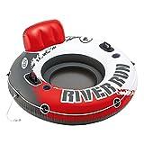 Intex 56825EU - Rueda hinchable River Run 135 cm diámetro roja