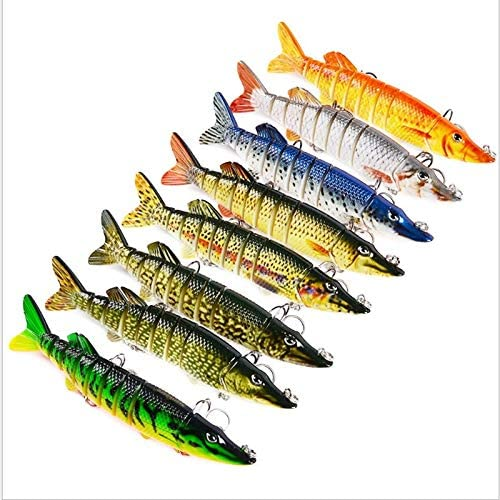 WANGZHENZHEN SHUZHEN 1pc Multi-Section Fishing 12.5cm lowest price I Award Lure 21g