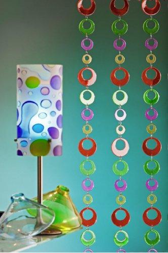 5 Stück Girlande Dekoration Meterware \'Color Rings\' 2m lang