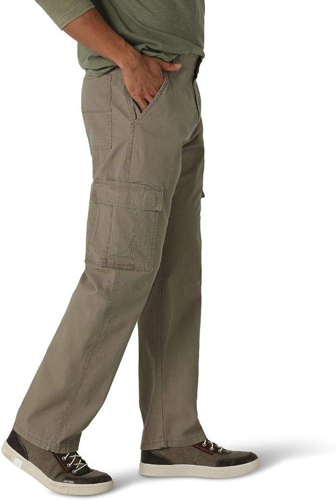 Wrangler Pantalon décontracté pour homme. Ripstop Kaki Militaire.