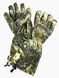 X Elaho 2 - Guantes de Caza (Forro Polar, cálidos, para Actividades al Aire Libre), otoño/Invierno, Hombre, Color Camouflage, Tarnfarben, tamaño 9