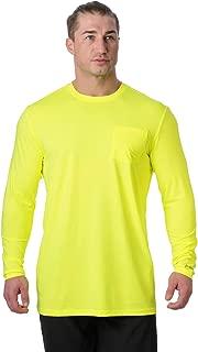 Men's Instant Cooling Long Sleeve Pocket Workwear Shirt