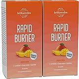 Brilliantslim Rapid Burner - Drenaje natural diurético y desintoxicante con L-carnitina, 2...