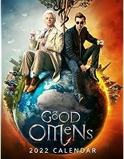 Good Omens 2022 Calendar: Movie tv series films calendar dvd. Planning- Calendar planner 12 months