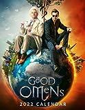 Good Omens 2022 Calendar Movie tv series films calendar dvd. Planning- Calendar planner 12 months