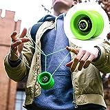 YoyoFactory VELOCITY Yo-Yo - VERDE (Dal Principiante Al Professionista, Gioco Yoyo Moderno...