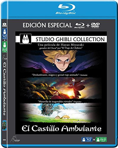 El Castillo Ambulante (Combo Bd) [Blu-ray]