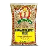 Laxmi Brand, Brown Basmati Rice, Vegetarian, Whole Grain, Light, Nutty Flavor, Made Pure, Made...