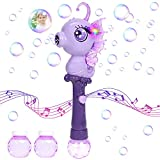 vamei Seifenblasenmaschine Kinder Bubble Machine Automatischer Seepferdchen-Blasenmaschine...