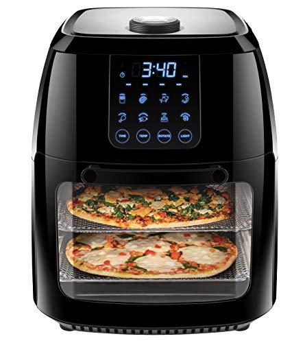 Chefman 6.3 Quart Digital Air Fryer+ Rotisserie, Dehydrator,...