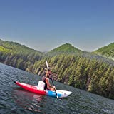 SHIJING Aqua Marina Betta VT K2 10'3'/ 13'6' VT-312/412 Bote Inflable Kayak Canoa PVC balsa Cubierta de PVC Kayak para el Deporte Profesional,2