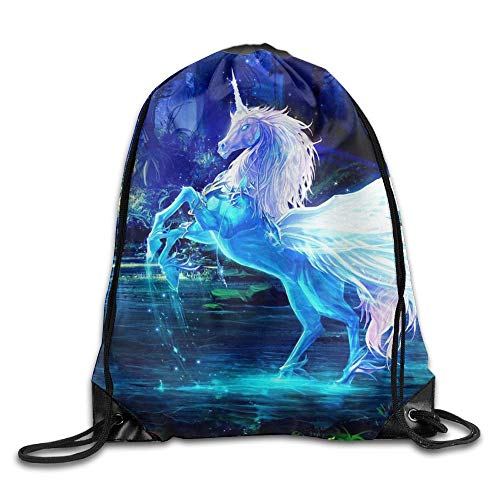 Jiger Classic Elk Diamonds Drawstring Bag Yoga School Multifunction Backpack Gym Sack