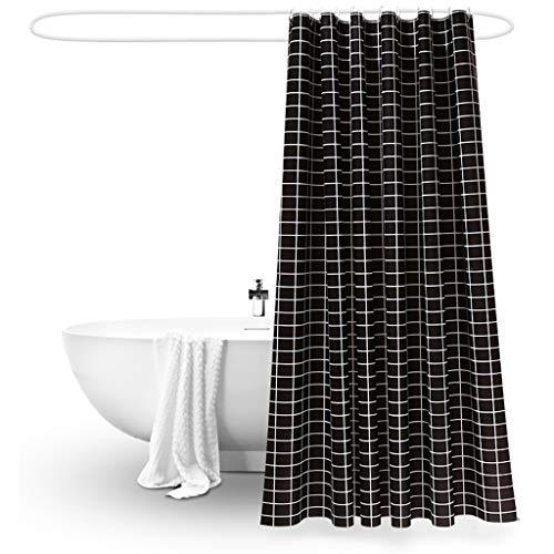 Rideaux de douche Salle de bains rideau de douche épaisse imperméable à l'eau et moisissure rideau de douche rideau d'intervalle (largeur * hauteur) Rideaux de douche de haute qualité
